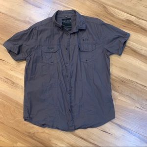 Angelo litrico slim fit xl 43/44 gray button
